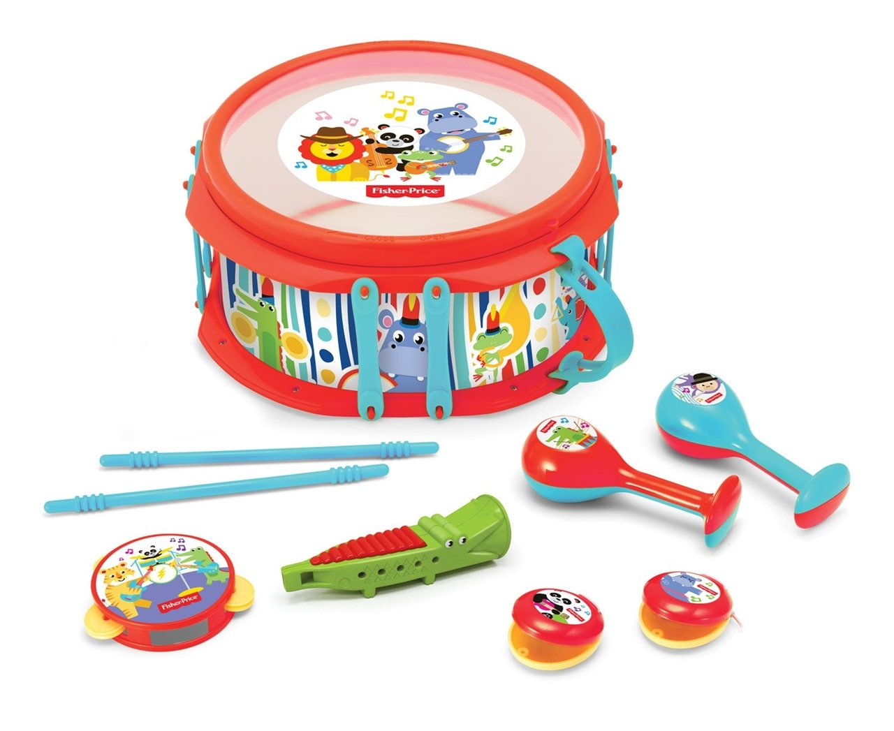 Set muzical Animalute - Fisher Price