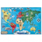 Puzzle de podea Harta Lumii / World Map