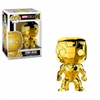 Pop Marvel: Marvel Studios 10 - Iron Man (Chrome)