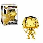 Pop Marvel: Marvel Studios 10 - Black Widow (Chrome)