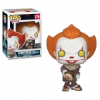 POP MOVIES: IT 2 - PENNYWISE WITH BEAVER HAT 40629