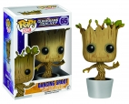 Pop Bobble Marvel Guardians Of The Galaxy O/T Galaxy Dancing Groot
