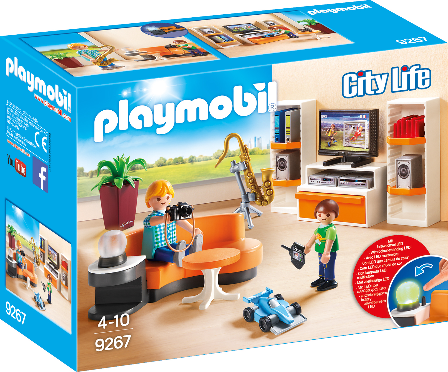Playmobil City Life - SUFRAGERIE