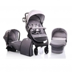 Carucior Copii 3 in 1 Cangaroo Noble Grey