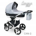 Carucior copii 2 in 1 Carera New Camarelo CAN-2