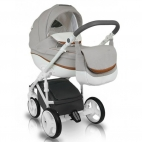 Carucior copii 3in1 Bexa Ideal Amo Silver