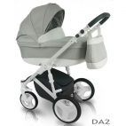 Carucior copii 3in1 Bexa D'Angela Light Grey