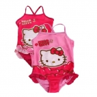 Costum De Baie Pink Hello Kitty