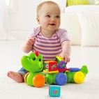 Crocodil cu cuburi Fisher-Price