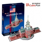 Independence Hall Puzzle 3D