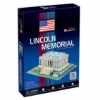 Lincoln Memorial Puzzle 3D
