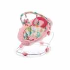 Baby Mix - Leagan muzical cu vibratii Grand Confort Pink Sensation