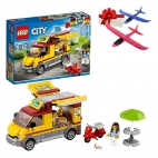 Lego City - Great Vehicles Furgoneta de pizza 60150 + Cadou avion pasare