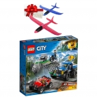 Lego City - Goana pe Teren Accidentat 60172 + Cadou avion pasare