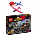 Lego Super Heroes - Captain America Movie 1 76050 + Cadou avion pasare