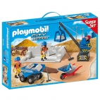 Playmobil City Action - Super Set Santierul De Constructie 6144