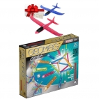 Geomag - Set Constructie Magnetic Glitter 30 GEOGLI531 + Cadou avion pasare