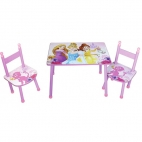Fun House Set masuta si 2 scaunele Disney Princess