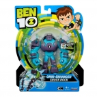 Figurine Ben 10 – Shock Rock Omni-adaptat 12cm