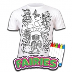 Tricou Splat Planet Fairies - Coloreaza-Poarta-Spala-Repeta