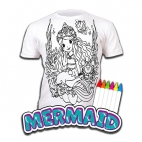 Tricou Splat Planet Mermaid - Coloreaza-Poarta-Spala-Repeta