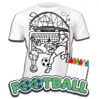 Tricou Splat Planet Football - Coloreaza-Poarta-Spala-Repeta