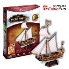 Yacht Mary Puzzle 3D