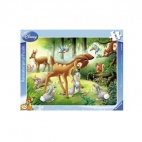 PUZZLE BAMBI, 8 PIESE