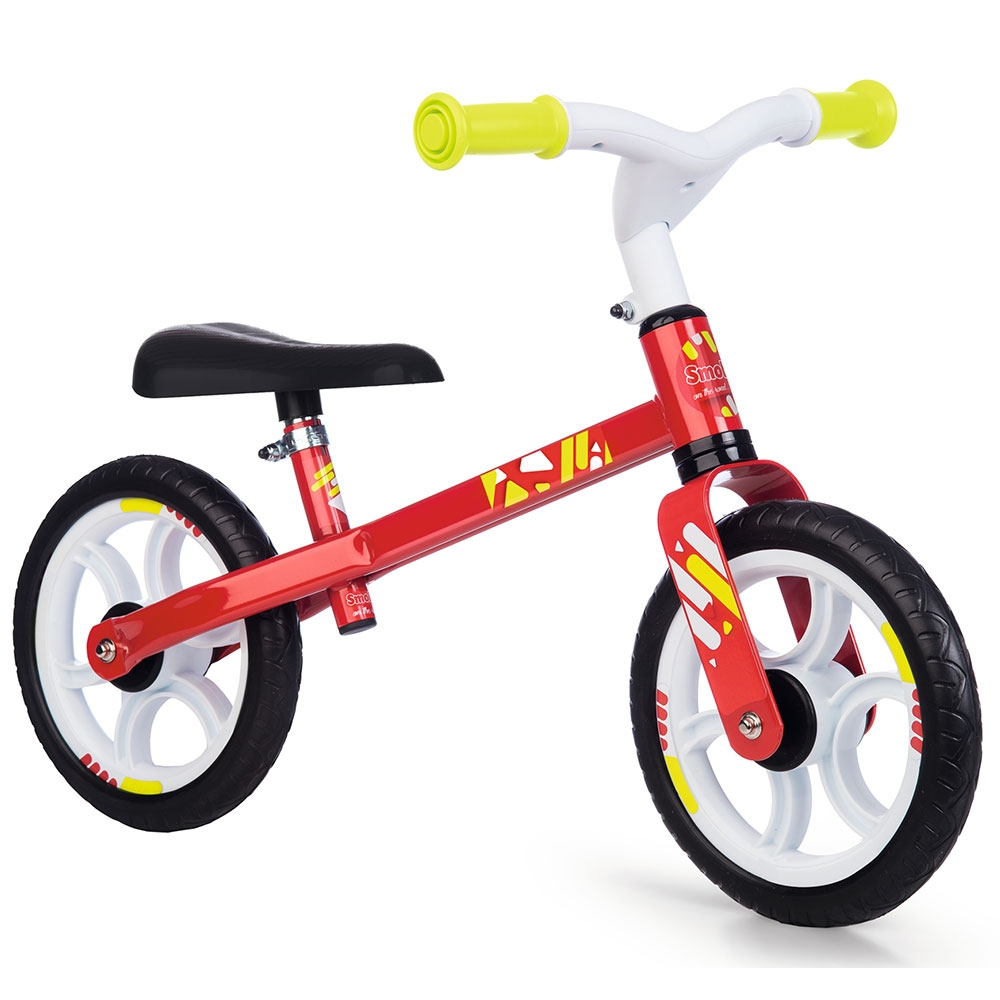 Smoby - Bicicleta fara pedale First Bike red