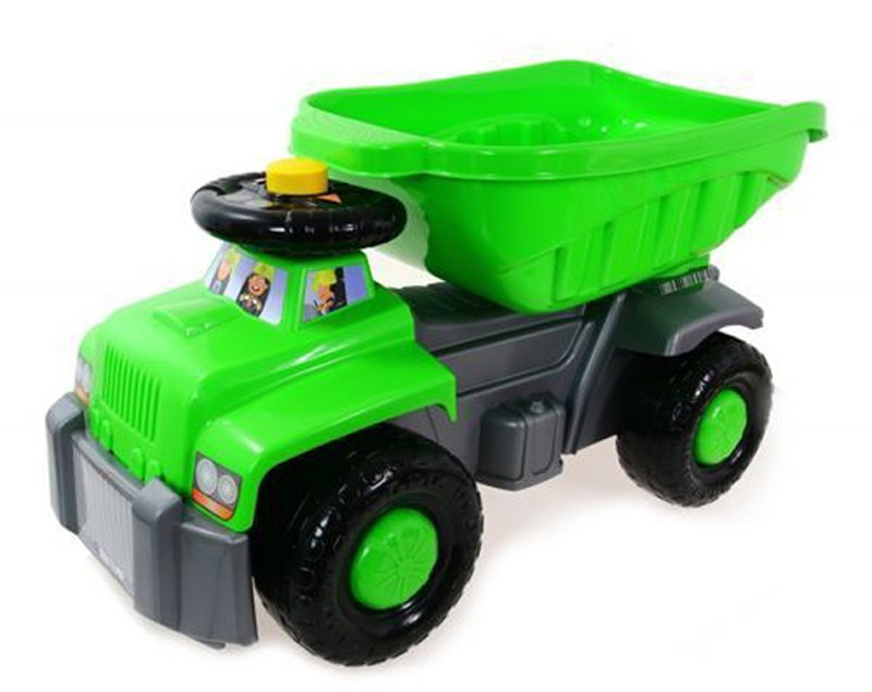 Super Plastic Toys - Camion basculant Carrier green
