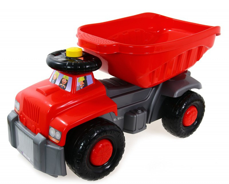 Super Plastic Toys - Camion basculant Carrier red