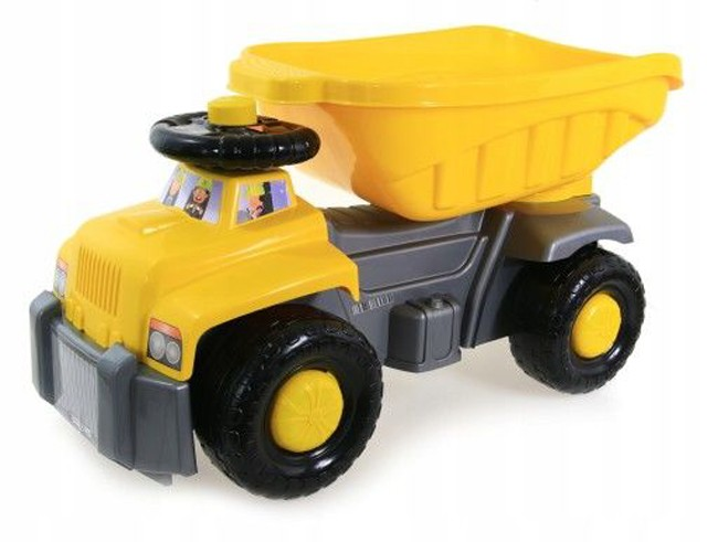 Super Plastic Toys - Camion basculant Carrier yellow