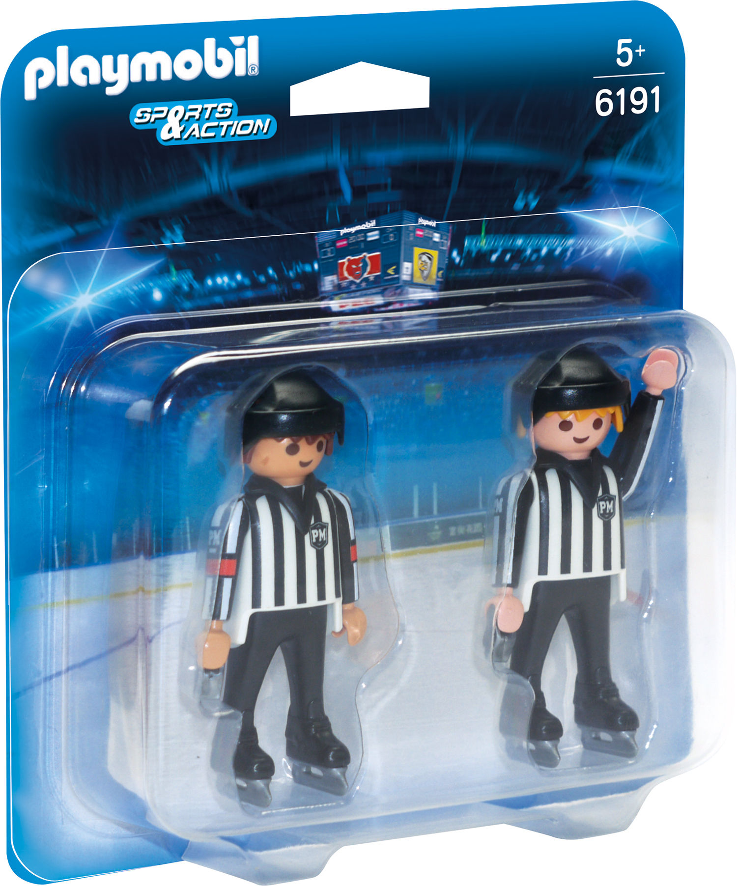 Playmobil Sports & Action - ECHIPA DE ARBITRAJ LA HOCHEI