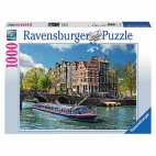 PUZZLE TURUL CANALULUI IN AMSTERDAM, 1000 PIESE