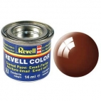 Revell 32180 Vopsea email Mud Brown Gloss