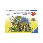 PUZZLE TRICERATOPS, 72 PIESE