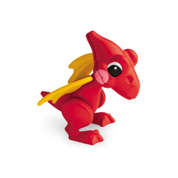 Tolo - Jucarie Dinosaur - Figurina First Friends Pterodactil ros