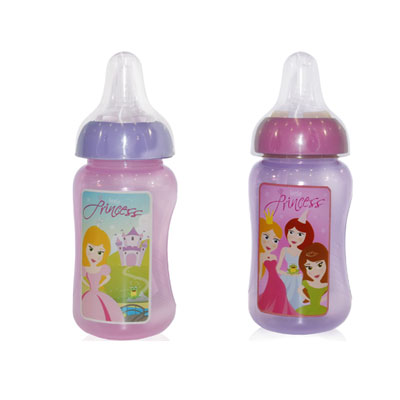 Biberon curbat anatomic 300 ml Little Princess