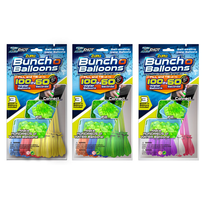Baloane cu apa Bunch O Balloons - Rapid Fill Orange 100