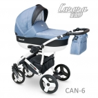 Carucior copii 2 in 1 Carera New Camarelo CAN-6