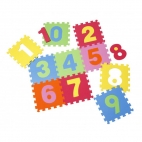 Knorrtoys Covor puzzle din spuma Numbers 10 piese