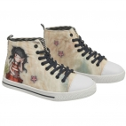 Pantofi sport canvas inalti Santoro Gorjuss-Summer Days